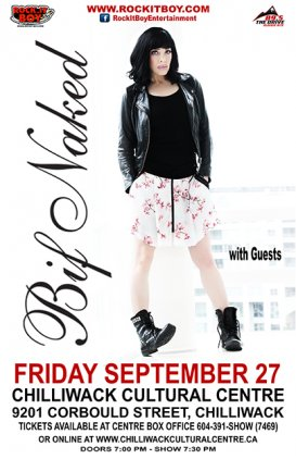 Win 2 Tickets to See Bif Naked on September 27 in Chilliwack