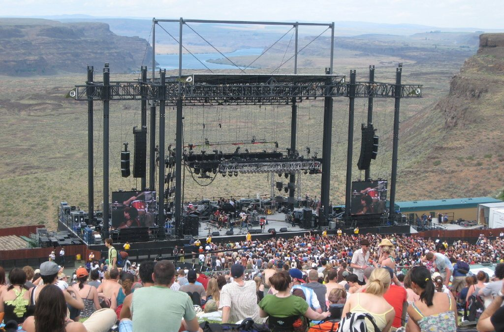 Top 5 Outdoor Venues in the World