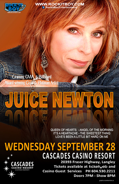 JUICE NEWTON IN LANGLEY