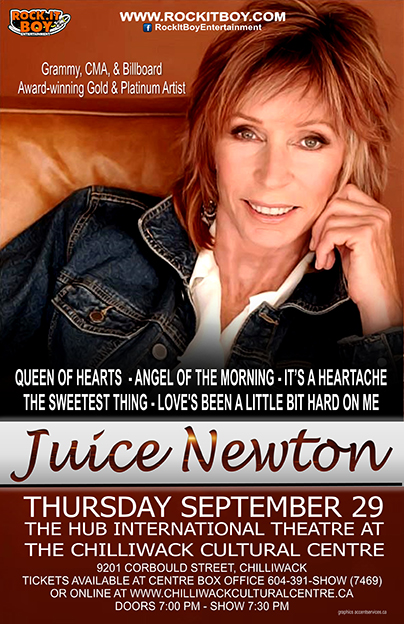 JUICE NEWTON IN CHILLIWACK