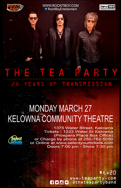 The Tea Party TX20 Kelowna