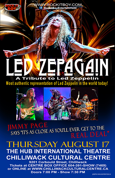 LED ZEPAGAIN IN CHILLIWACK