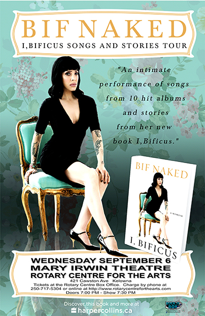 BIF NAKED IN KELOWNA