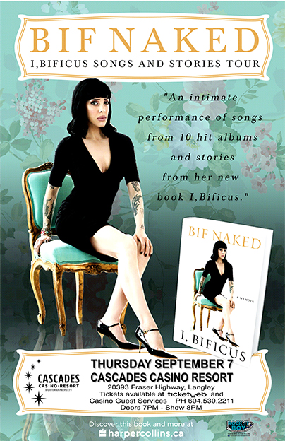 BIF NAKED IN LANGLEY