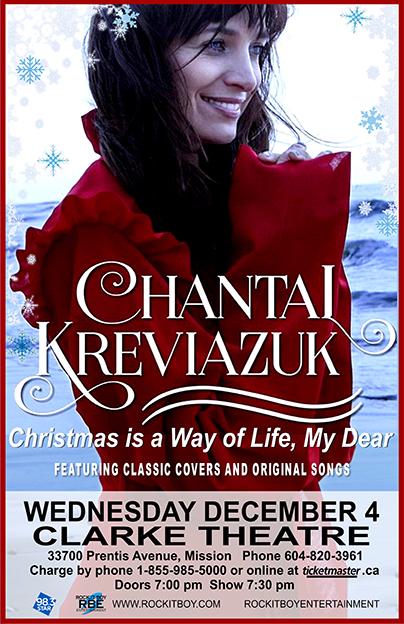 CHANTAL KREVIAZUK IN MISSION