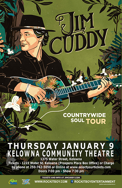 JIM CUDDY IN KELOWNA