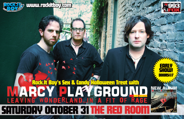 Marcy Playground with Jordan Carrier