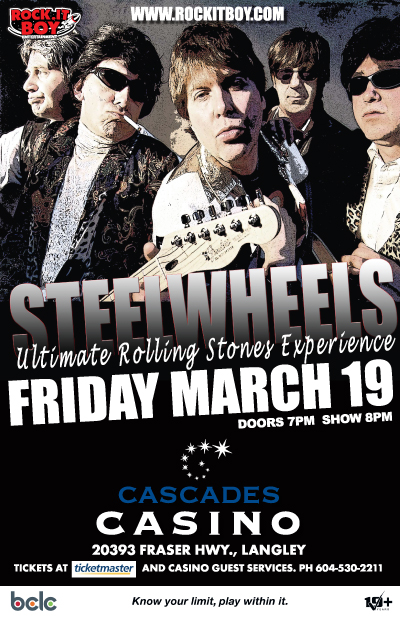 Steel Wheels – The Ultimate Rolling Stones Experience