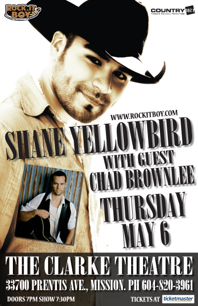 Shane Yellowbird with Chad Brownlee