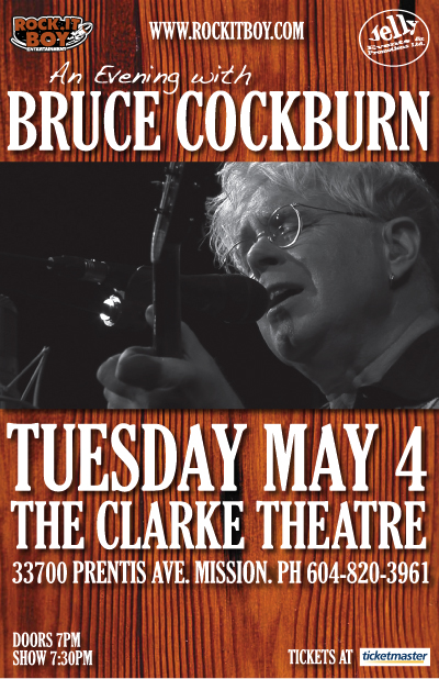 An Evening With Bruce Cockburn