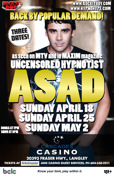 UNCENSORED HYPNOTIST ASAD