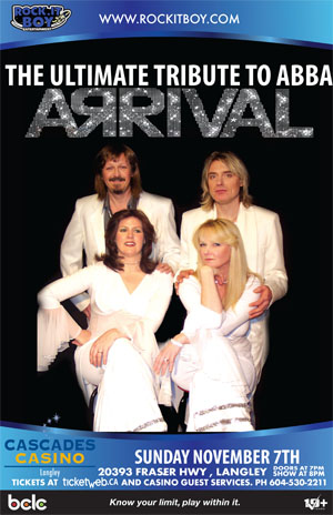 ARRIVAL – CANADA'S TRIBUTE TO ABBA