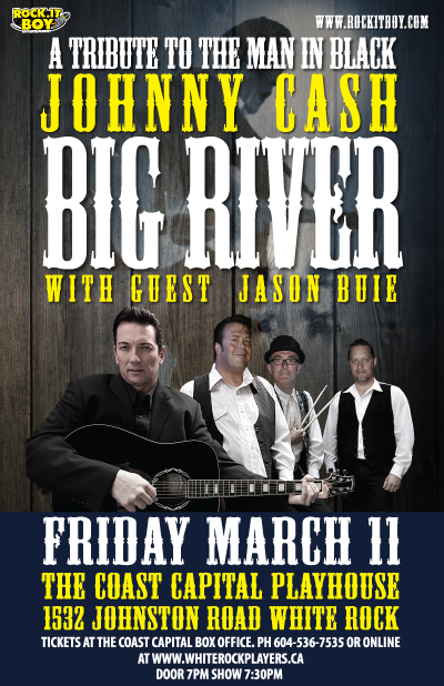 BIG RIVER – A TRIBUTE TO THE MAN IN BLACK