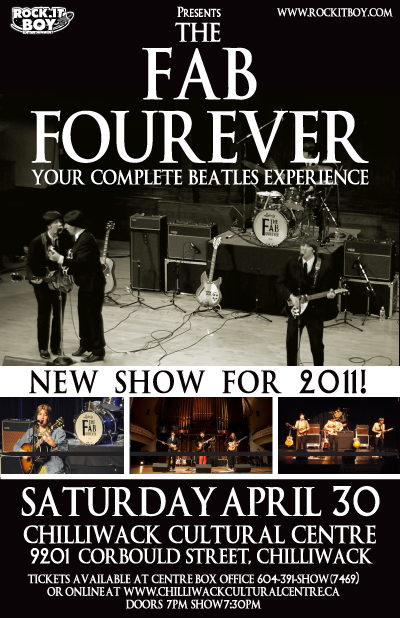 THE FAB FOUREVER IN CHILLIWACK