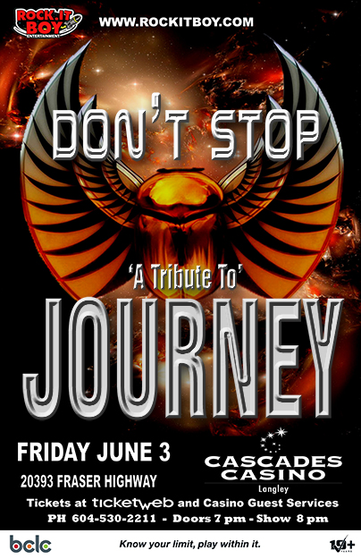 DON'T STOP – A TRIBUTE TO JOURNEY