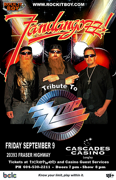 Fandangozz Canada S Tribute To Zz Top Rock It Boy