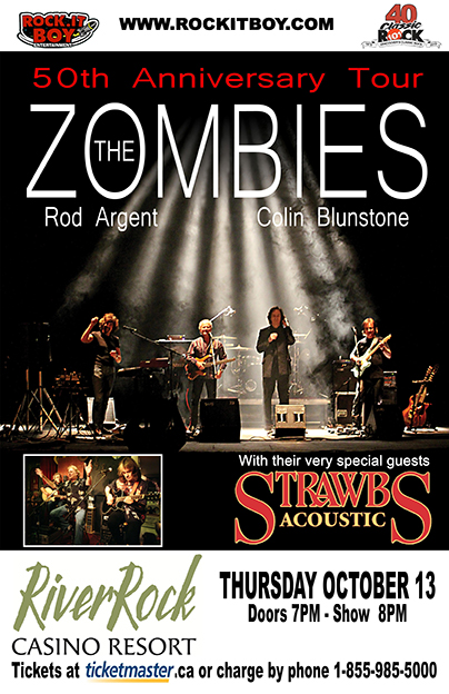 THE ZOMBIES WITH THE STRAWBS