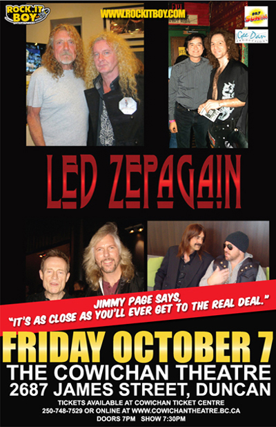 LED ZEPAGAIN IN DUNCAN
