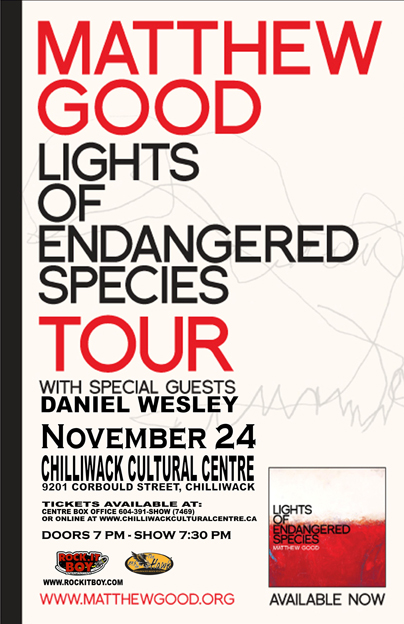 MATTHEW GOOD IN CHILLIWACK