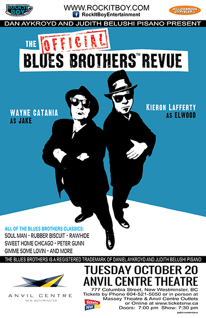 THE OFFICIAL BLUES BROTHERS REVUE IN NEW WESTMINSTER