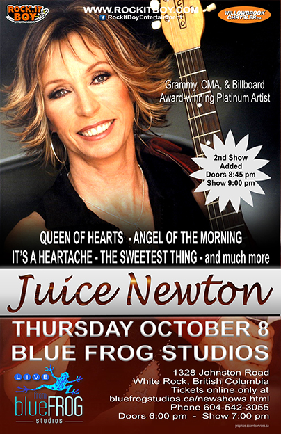 JUICE NEWTON IN WHITE ROCK