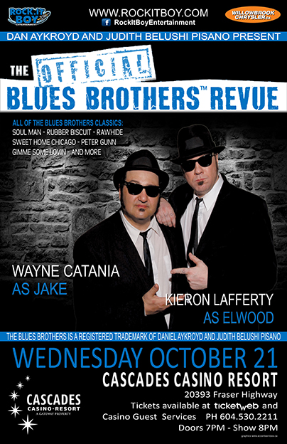 THE OFFICIAL BLUES BROTHERS REVUE IN LANGLEY
