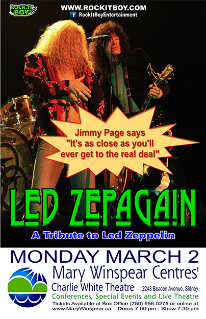 LED ZEPAGAIN IN SIDNEY