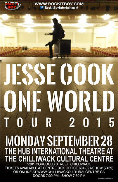 JESSE COOK IN CHILLIWACK