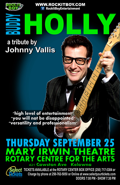 BUDDY HOLLY IN KELOWNA